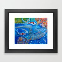 With Every Breath Framed Art Print