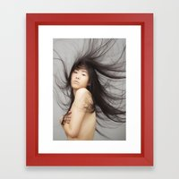 Vulnerable Framed Art Print