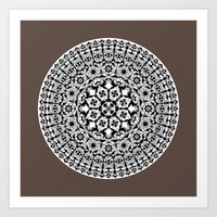 Khatem Rosette 005 | Cof… Art Print