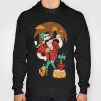 Green Thumberjack Hoody