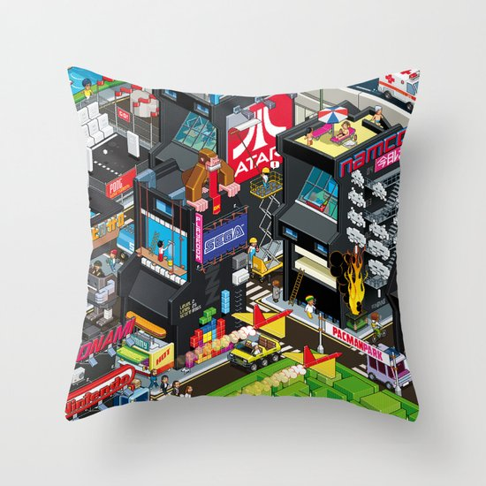 GAMECITY Throw Pillow
