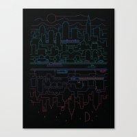City 24 (Colour) Canvas Print