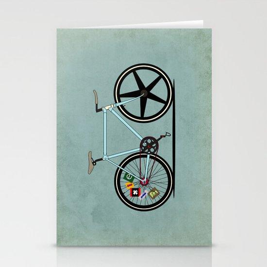 Fixie Bike Stationery Card