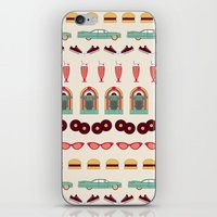 Meet Me At The Diner iPhone & iPod Skin