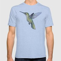 Hummingbird Mens Fitted Tee Athletic Blue SMALL