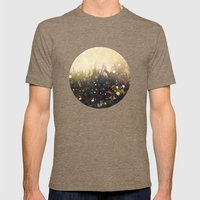 Hidden in the Magic Garden Mens Fitted Tee Tri-Coffee SMALL