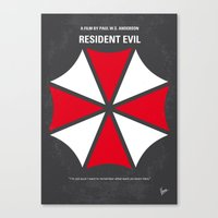 No119 My RESIDENT EVIL M… Canvas Print