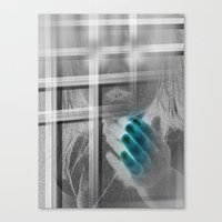 White Noise - Variant II… Canvas Print