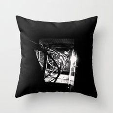 Old Town Elevator Throw Pillow