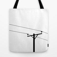 Telephone Pole Tote Bag