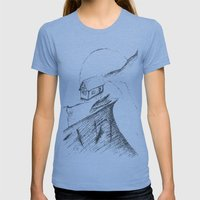 If only... Womens Fitted Tee Athletic Blue SMALL