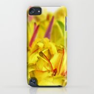 iPhone & iPod Case featuring Yellow Tulips by Aloke Design