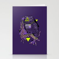 DiscOwl 6c Stationery Cards