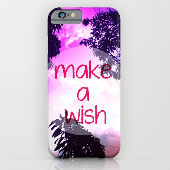Make a Wish iPhone & iPod Case