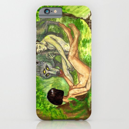 """The Haunted Man"" by Virginia McCarthy & Cap Blackard iPhone & iPod Case"