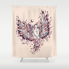The Wisdoms and Wonderings of a Wide-Eyed Wanderer Shower Curtain