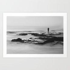 Cottesloe Fisherman Art Print
