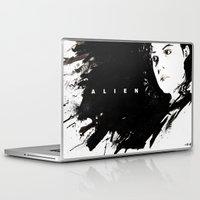 alien Laptop & iPad Skins featuring Alien by jgart