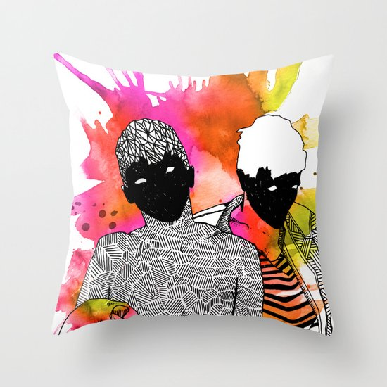 Young Liars 4 Throw Pillow