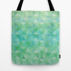 Green/Blue : Pattern Tote Bag
