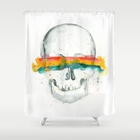 The Anonymity of Existence Shower Curtain