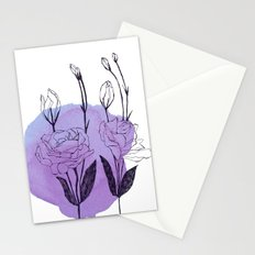 lisianthus Stationery Cards