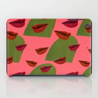 Retro Lips (2) iPad Case