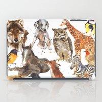 Animal Menagerie iPad Case