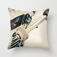 Trucks Throw Pillow
