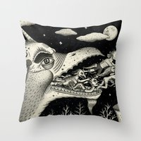 Reawakened Throw Pillow