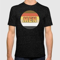 MEN Mens Fitted Tee Tri-Black SMALL