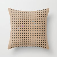 Famous Capsules - Clone Wars Throw Pillow