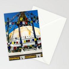 Prayers on the wind Stationery Cards
