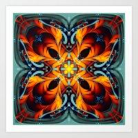 Mandala #7 Art Print