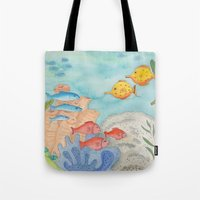 The Southern Sea Tote Bag