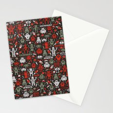 Vintage Robots Stationery Cards