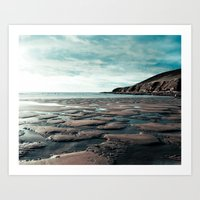 Saunton Sands North Devo… Art Print