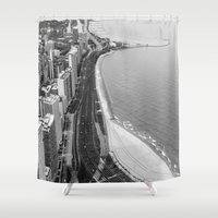 Lakeshore Drive Shower Curtain