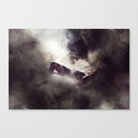 It's Only Fragments That… Canvas Print