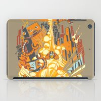 Smash! Zap!! Zooom!! - Butt-Chinned Captain iPad Case