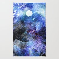 Winter Night Orchard Rug