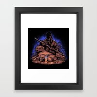 Wizard For Hire Framed Art Print