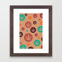 GGDUB - Burnt Orange Wee… Framed Art Print