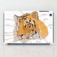Tiger Colors iPad Case