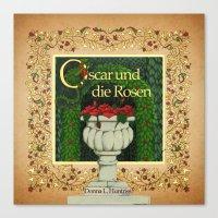 Oscar und die Rosen Book Cover Canvas Print