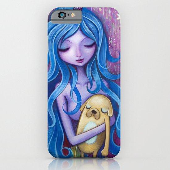 Lady Rainicorns Loving Arms iPhone & iPod Case