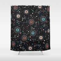 Spirits of the Stars Shower Curtain