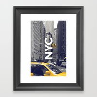 NYC Basic [3] Framed Art Print