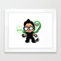 when I die i'm going on ghost adventures Framed Art Print