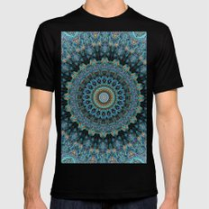 Spiral Eye SMALL Mens Fitted Tee Black